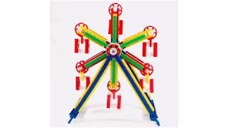 How to build a FERRIS WHEEL ? Innovative structural building set | stem toy set by VIRSADi