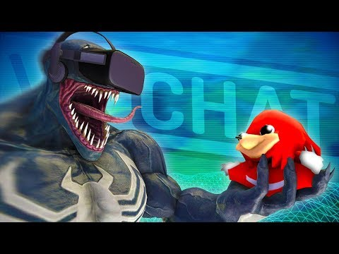 THE VOICE OF VENOM PLAYS VRCHAT!