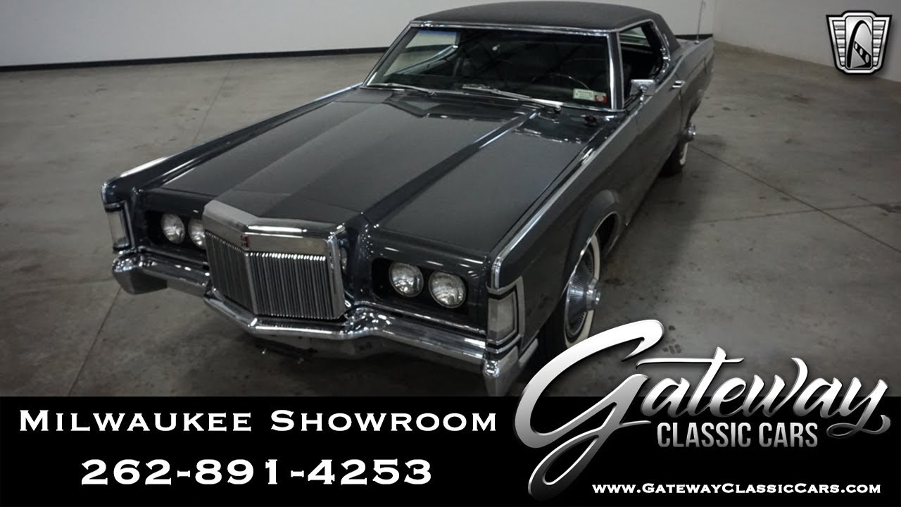 Lincoln Dealer Milwaukee >> 1969 Lincoln Mark Gateway Classic Cars Milwaukee 656 Youtube