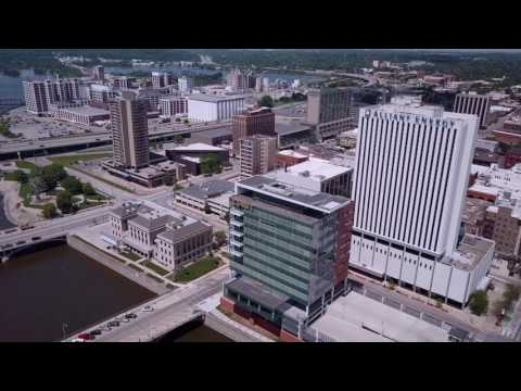 Downtown Cedar Rapids IA