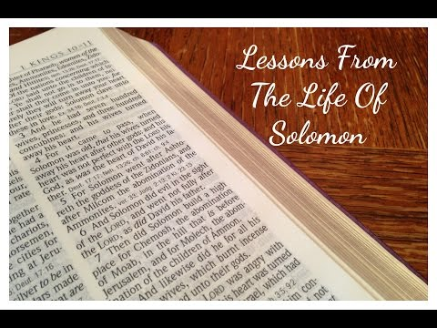 A Lesson From The Life Of Solomon /Daily Vlog 1/14/16