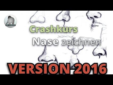Crashkurs Nase Zeichnen Youtube