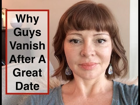 Why do guys disappear online dating