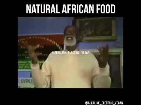 Dr. Sebi speaks on natural African food