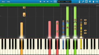Duran Duran - Hungry Like The  Wolf - Piano Tutorial - Synthesia Cover