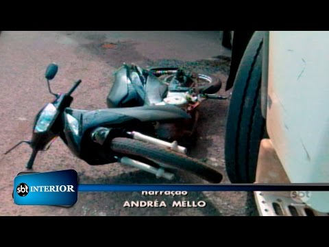 Araçatuba: Motociclista ferido em acidente não corre risco de morte