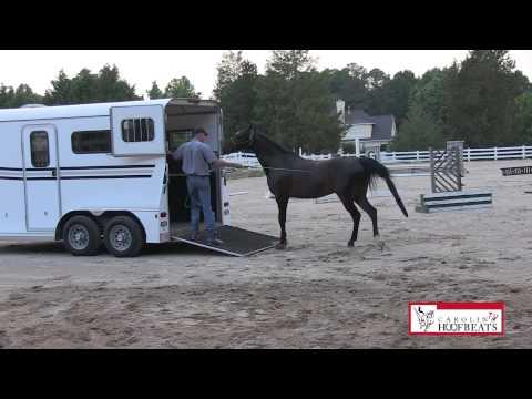 Jim Thomas Loading Horse