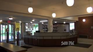 Circulation Desk @ SRU Bailey Library