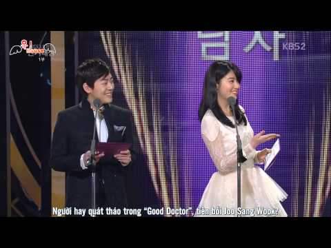 [Vietsub] 131231 Lễ trao giải - Joo Sang Wook MC cut phần 1
