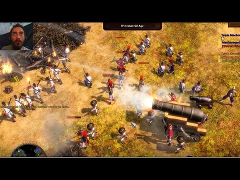 Age of Empires 3 Wars of Liberty Perú - Habsburgo vs Chile - Habsburgo online multiplayer gameplay