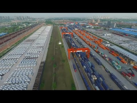 Crossing  continents: China-Europe freight trains