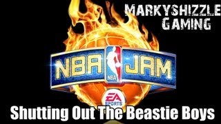 NBA Jam Shutting Out The Beastie Boys! [HD] Remix Tour Hidden Bosses! 3 The Hard Way Achievement