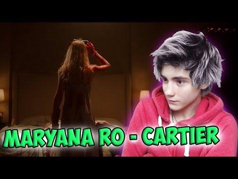 Maryana Ro - Cartier (Official Video) Реакция   Maryana Ro   Реакция на Maryana Ro - Cartier