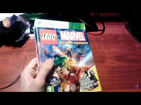 Анбоксинг LEGO Marvel Super Heroes (Xbox 360)