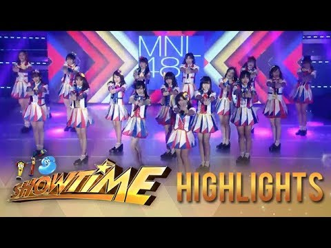 It's Showtime: MNL48 Energizes The It's Showtime Stage