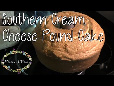 Southern Cream Cheese Pound Cake Quick Step By Step