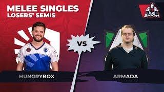 Video Hungrybox vs Armada - Melee Singles: Losers' Semifinals - Smash Summit 6 download MP3, 3GP, MP4, WEBM, AVI, FLV November 2018