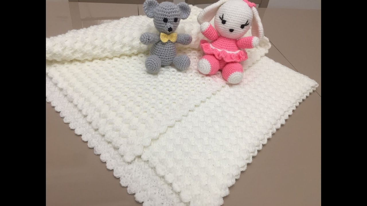 Videolu Tavşanlı Bebek Battaniyesi