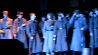 """""""Mūžības skartie"""", A.Čaks 2012 Āgenskalna Valsts ģimnāzijas Žetonvakars Kongresu namā 12.1"""