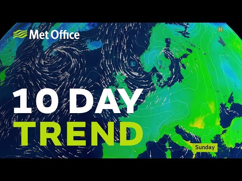 10 Day trend - It's set to turn colder, but will there be snow?
