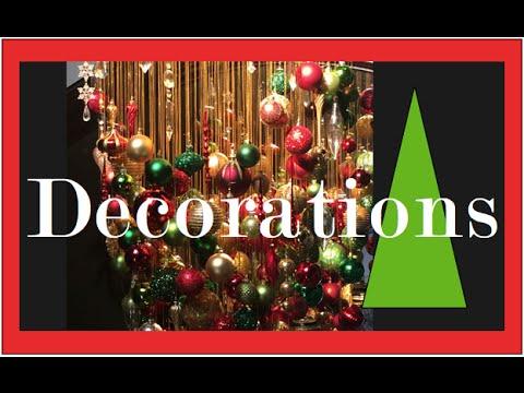 Christmas Decorating Ideas Beautiful Christmas Decorations Youtube