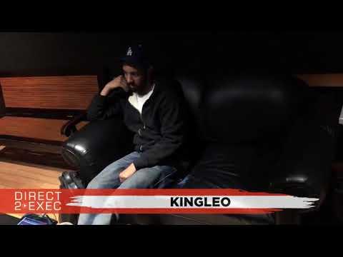 Kingleo (@thereealnigga) Performs at Direct 2 Exec Los Angeles 3/4/18 - Dreamville Records