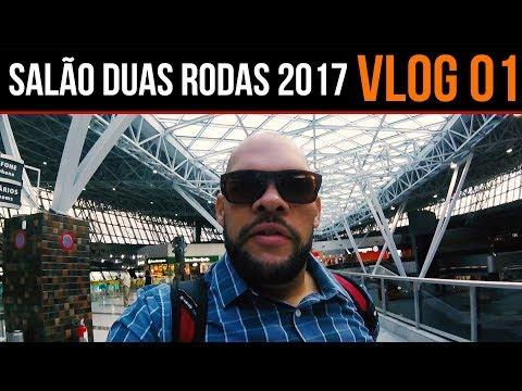Chegada a São Paulo para o Salão Duas Rodas 2017 - VLOG #01
