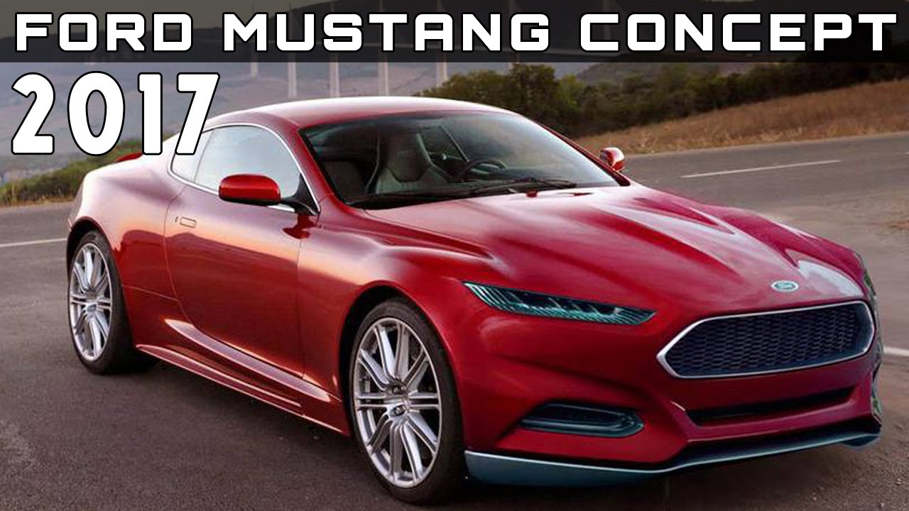 2017 ford mustang concept review rendered price specs release date