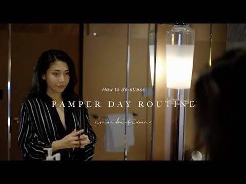快速放松的SPA步骤! 晚间护肤 pamper day routine | ANNBITION