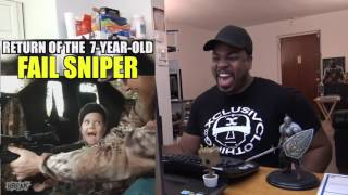 Return of the 7-Year-Old Fail Sniper REACTION!!!