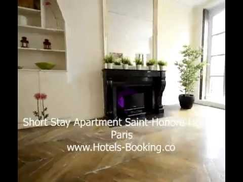 Short Stay Apartment Saint-Honore Hotel - Paris