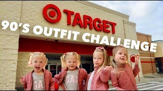 90'S OUTFIT SHOPPING CHALLENGE