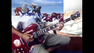 [TAB] infinite stratos season 2 op True Blue Traveler Guitar Cover