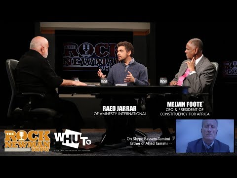 Human Rights in Israel on The Rock Newman Show