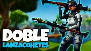 DOBLE LANZACOHETES (Fortnite Battle Royale)