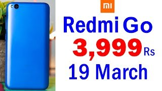Redmi Go Price, Launch Date, Specifications, Features, Review, Camera