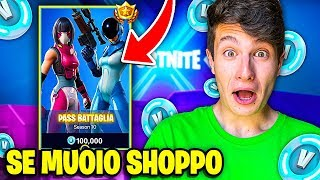 "IF I AM ""OBBLIGATO"" to SHOPPARE the NEW PASS BATTLE of SEASON 10!! Fortnite ITA"