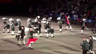 Top Secret Drum Corps, Royal Edinburgh Military Tattoo, 2015