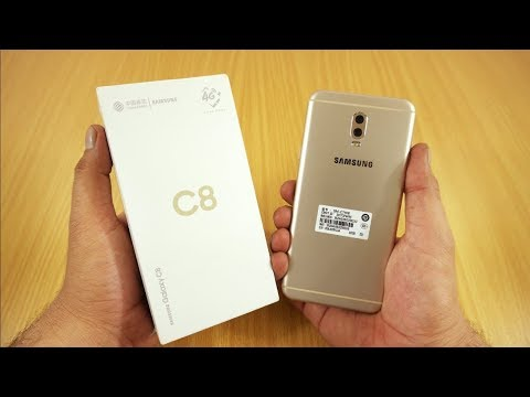 Samsung Galaxy C8 Unboxing & First Look [Urdu/Hindi]