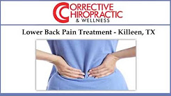 Lower Back Pain Treatment - Killeen, TX