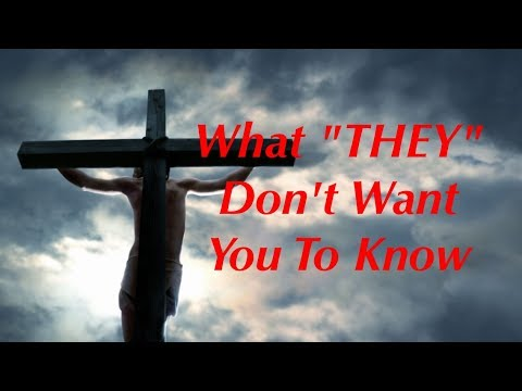 The Crucifixion! The Hidden Meaning the Elites and Religion Don't Want You to Know!