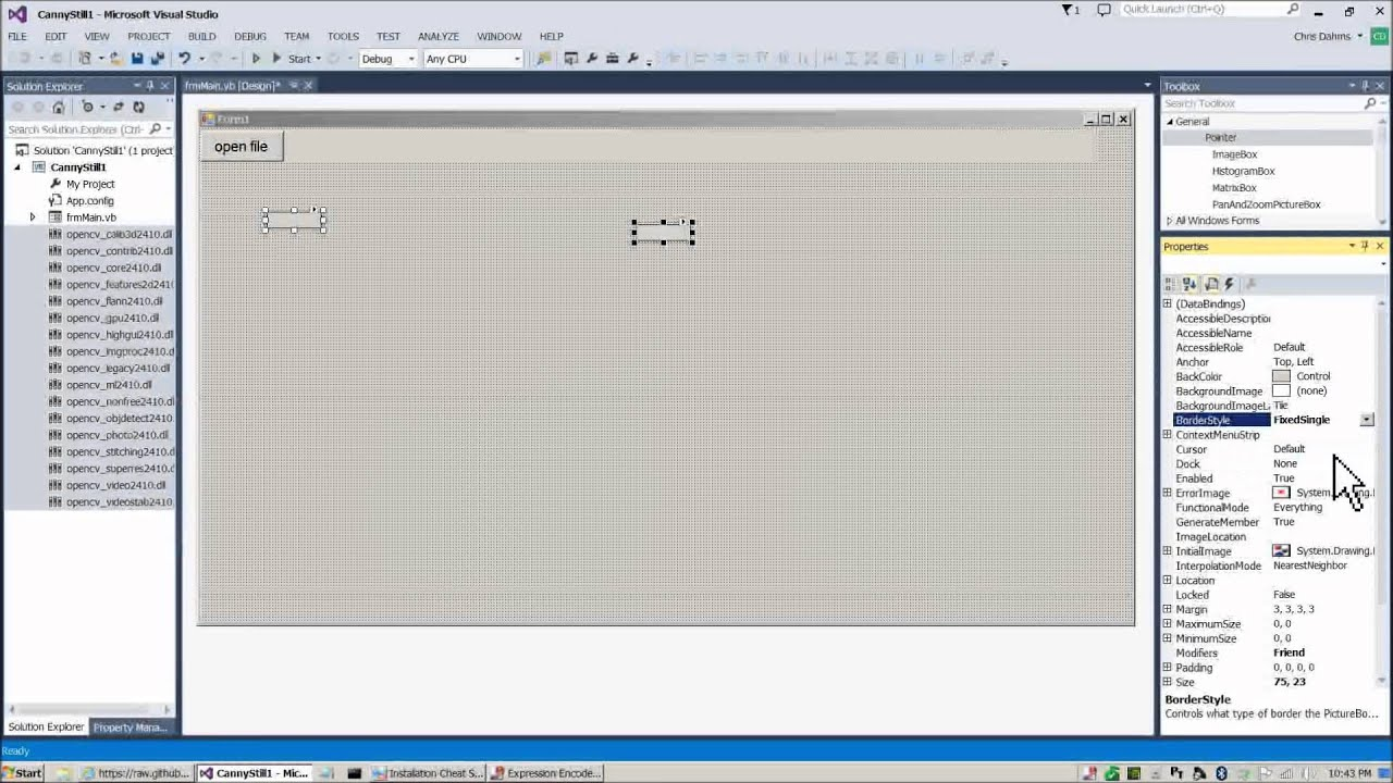 opencv 2 4 11 windows 7 installation guide - part 3 - visual basic net and c  with emgu cv