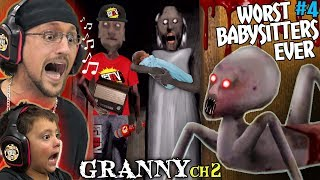 Don't Let Granny Babysit Your Kids! + Grandpa Is A Fgteev Fan!  Granny Chapter 2 Update