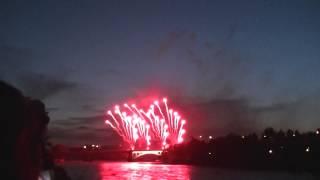 NTA News - Calgary | Canada Day Fireworks 2013 (Raw footage)