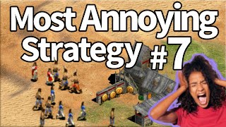 The Most Annoying Strategy #7 Villager Rush!