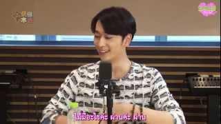 """[2PM2U] 140816 2PM Chansung - C-Radio """"Idol True Color"""" part 1/4 (Thaisub)"""