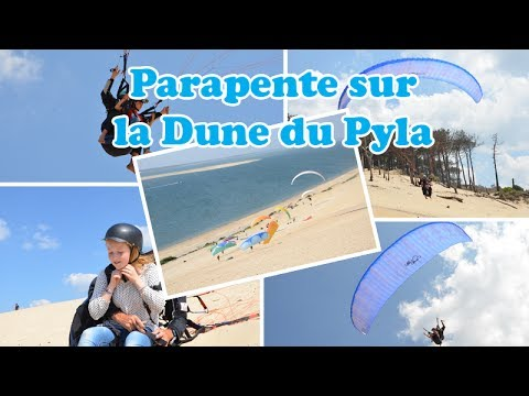 initiation parapente sur la dune du pyla youtube. Black Bedroom Furniture Sets. Home Design Ideas