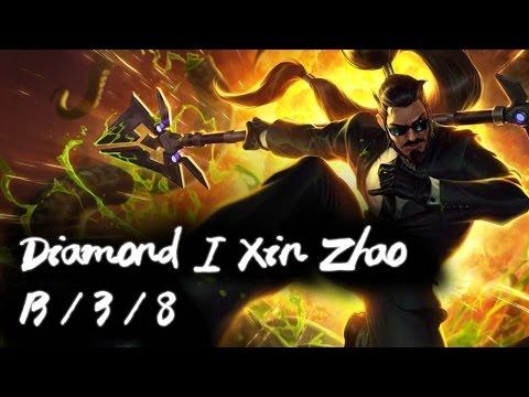 Korea Diamond 1 Jungle Xin Zhao | Ultimate lifesteal
