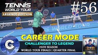 Let's Play Tennis World Tour   Career Mode #56   MILOS RAONIC   Tennis World Tour Career Mode