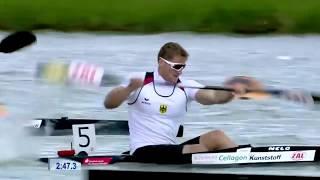 2017 ICF World Cup 2 in Szeged, Hungary, Men's K-1 1000m Semi-Final 2. HD